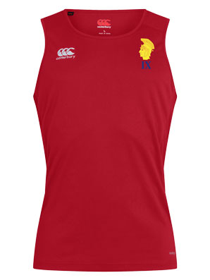 Red Training Vest
